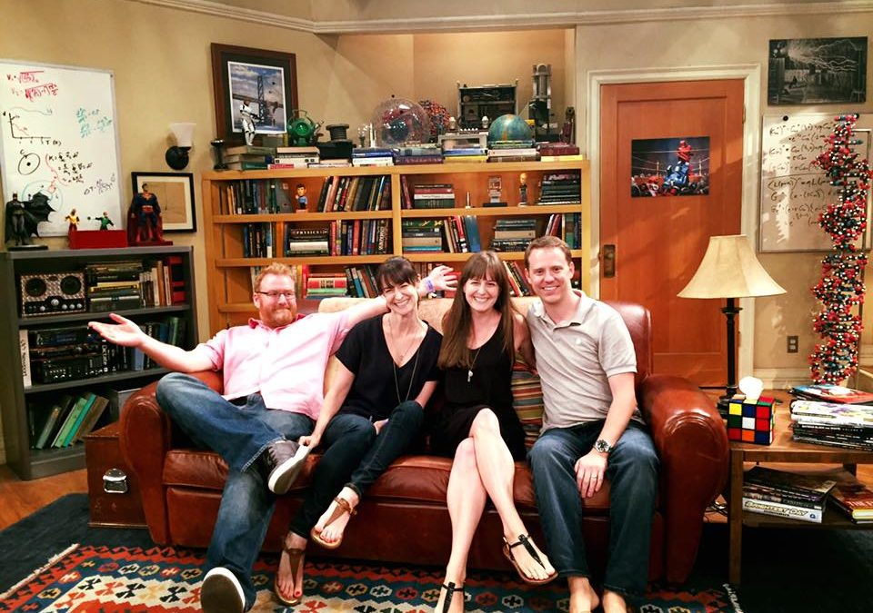 "Nerding Out at a Taping of ""The Big Bang Theory"""